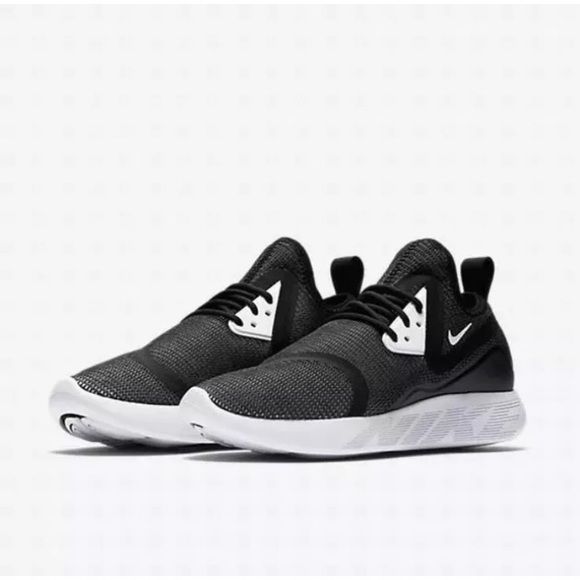 NEW Nike Lunarcharge Breathe Women's Running Shoes black white 942060 001 SZ 8